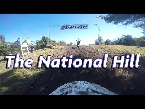 THE NATIONAL HILL   Broome-Tioga MX   250 Beginner   Moto 1   9/25/2016