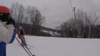 Skiing with the Munchkin Windham 2016