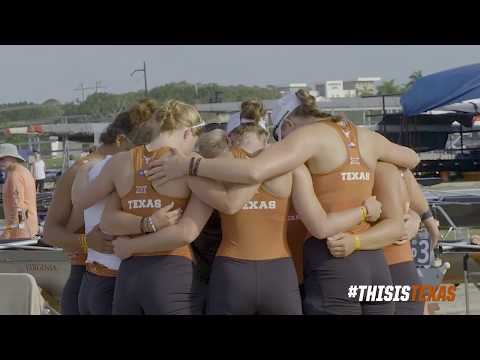 Texas Rowing starts strong at the 2018 NCAA Championships