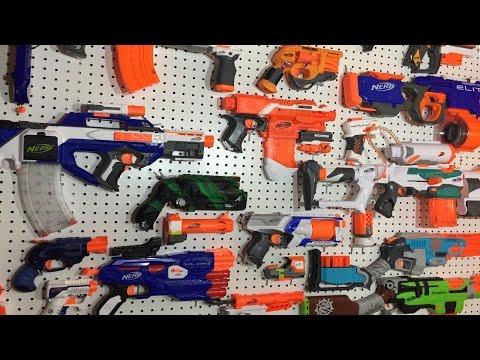 Building the Ultimate NERF Gun Arsenal
