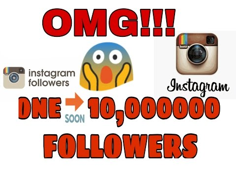Get 1000000 followers on Instagram in 5 minutes(not working)