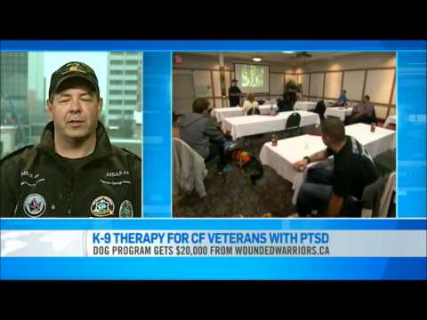 K-9 Thearpy For Canadian Forces Veterans With PTSD (11/30/2012)