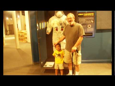 SC State Museum Columbia SC with a 2 yr old