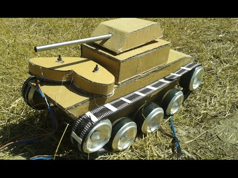How to Make a RC Tank - Wow Amazing Mini Tank