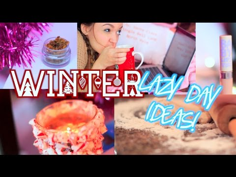 Lazy Winter Day Routine + What to Do! | DIY Lipscrub, Makeup and More!