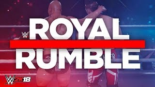 WWE 2K18 My Career Mode - Ep 38 - ROYAL RUMBLE MATCH!! (Legend Difficulty)