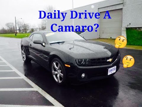 How to Daily Driver A Camaro? | Daily Driver Camaro RS Update