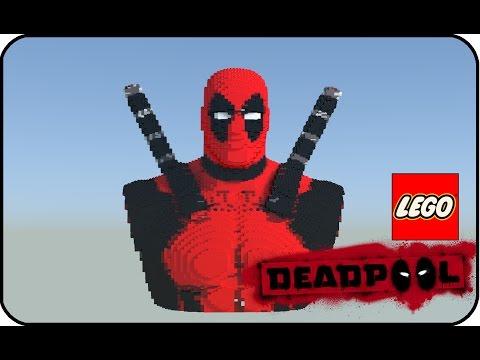Lego Deadpool Bust [HD]