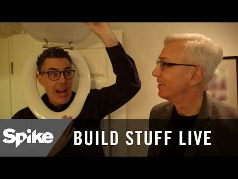 Adam Carolla Tours Dr. Drew's House | Build Stuff Live