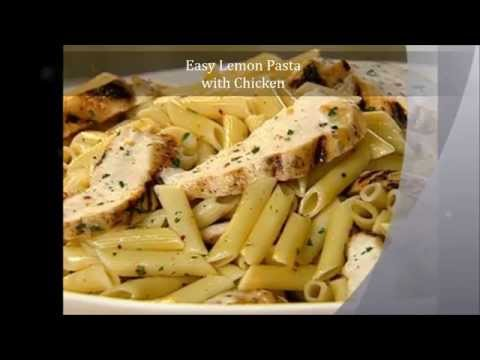 How-To: Quick and Easy Lemon Pasta with Chicken   Daily Recipes
