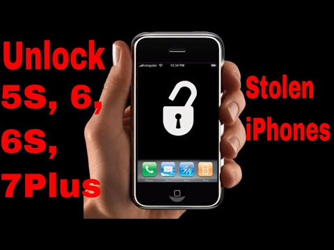 How Thieves Unlock Passcodes on Stolen iPhones 5, 5S, 5C, 6, 6S, 7 Plus