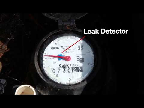 Checking for Water Leaks on Your Property