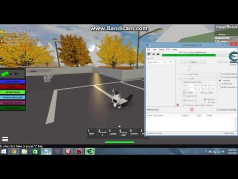 Roblox: Money Hack [Cheat engine 6.4] 2014