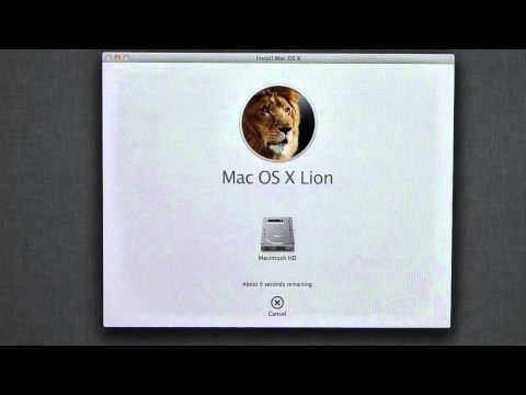 Mac How To #1 - Reinstalling Lion
