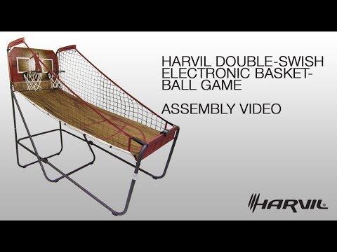 Assembly Video | Harvil Double-Swish Electronic Basketball Game | Dazadi.com