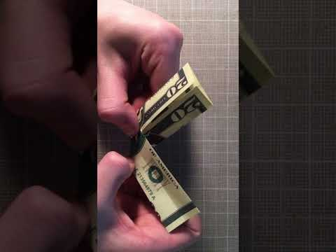 How to Make Origami Pants with a Dollar Bill