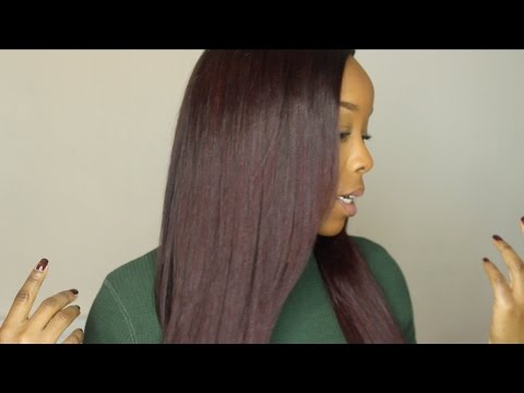 How to : Dye Your Hair Red / Burgundy with NO Bleach ♥
