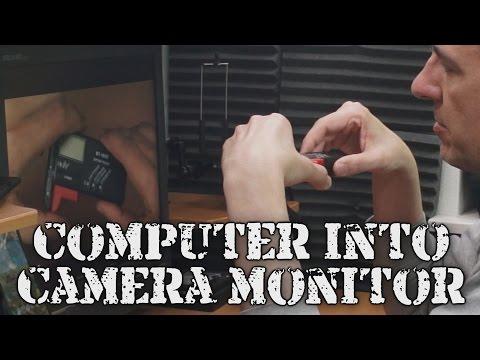 Tip: Turn computers into camera monitors