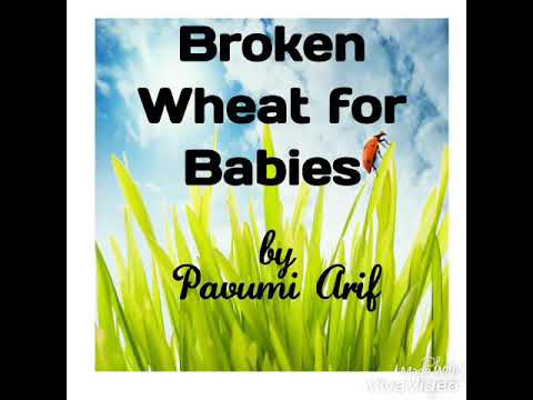 BROKEN WHEAT RAVA RECEIPES FOR BABIES