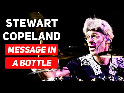 Message in a Bottle (DRUM LESSON) Stewart Copeland | The Police