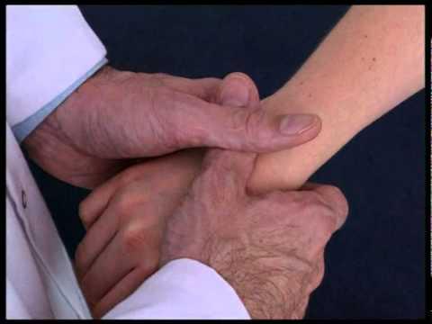 Manipulation of the Carpal bones of the wrist.mpg