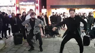 2019년12월23일8시~10시 4존 에너자이주팀 홍대버스킹(1)