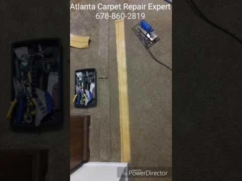 Atlanta Carpet Seam Repair