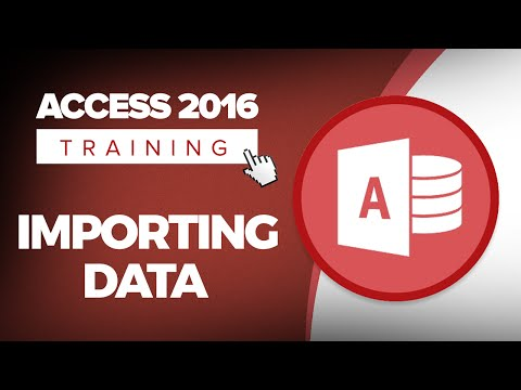How to Import Data from Excel in Microsoft Access 2016