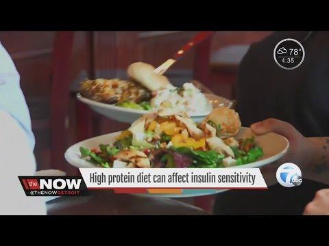 Study: High protein diet can affect insulin sensitivity