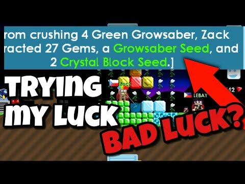 Testing My Luck | Growtopia