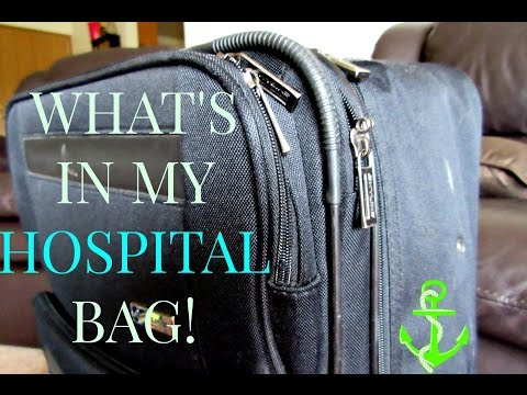 WHAT'S IN MY HOSPITAL BAG | 39 WEEKS PREGNANT