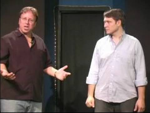 Improv Comedy Techniques : How to Play the What Are You Doing Game
