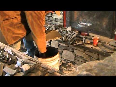 K2 Stone Fireplace Makeover