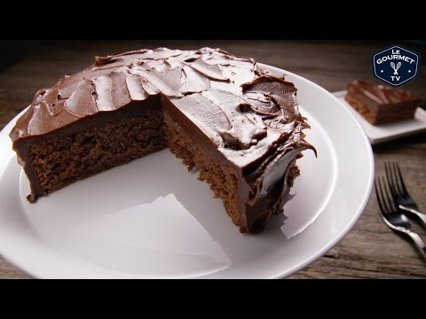 Chocolate Coke Cake With Icing For Two || Le Gourmet TV Recipes