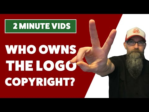 Who owns the copyright to a logo design, the designer or the client?
