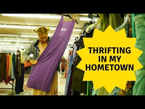 THRIFTING IN MY HOMETOWN!!!!