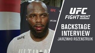 UFC Washington DC: Jairzinho Rozenstruik -