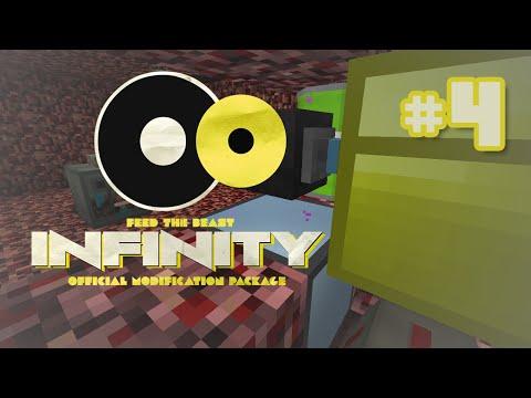 FTB Infinity - Ep 4 - Ender IO Wither Skull Farm