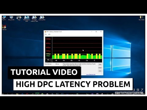 How to fix Stutter/Lag/Crackling Sounds/Drop Outs in Windows Sound/Audio (high DPC latency problem)