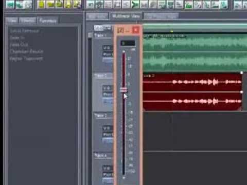 Mixing Adobe audition 1.5