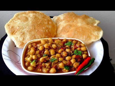 Tasty Chole Bhature Recipe in Bengali - সহজ ছোলে ভাটুরে রান্নার রেসিপি - Easy Chole Bhature Recipe
