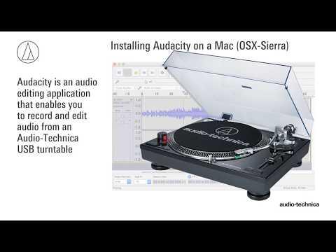 Install Audacity on a Mac (OS X Sierra and Newer)