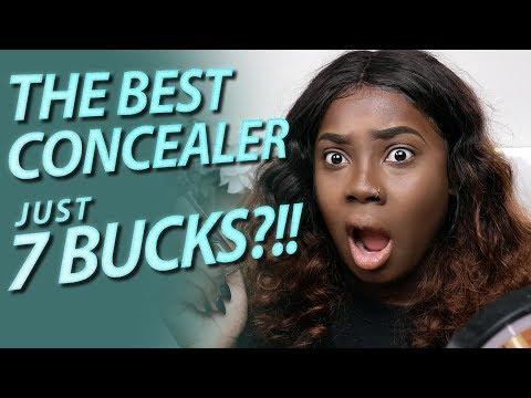 Makeup Revolution Concealer Dark Skin Review (Conceal and Define)