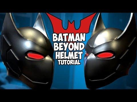 How To Batman Beyond Helmet v2.5