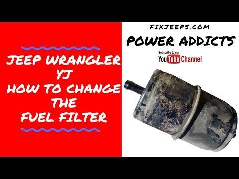 Jeep Wrangler YJ - Change that Fuel filter