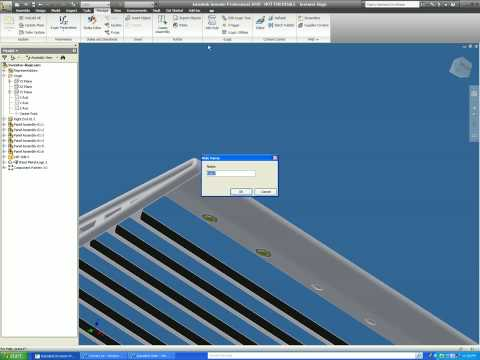 Autodesk Inventor to Revit using AEC exchange tool