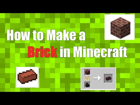 How to Make Brick in Minecraft; How to Make a Flower Pot in Minecraft