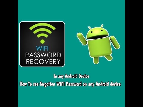How to Find Wifi Password in Your Android Device