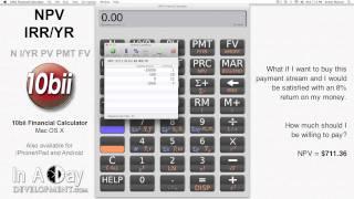 Financial Calculator Npv Irryr 10bii Mac Os X