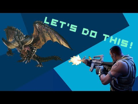 The BEARD Plays Monster Hunter and Fortnite.